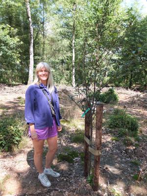 Bezoek aan voedselbos De Leperkoen